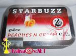 Кальянный табак Старбаз (Starbazz) 50 гр. - Персик на молоке (Peaches N Cream)